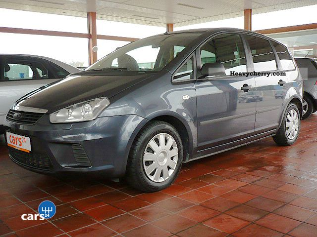 ford c max 1 6 tdci van nutzfahreug 2 seater sitzheiz 2007 box type delivery van photo and specs. Black Bedroom Furniture Sets. Home Design Ideas