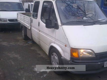1994 Ford  transit Van or truck up to 7.5t Stake body photo