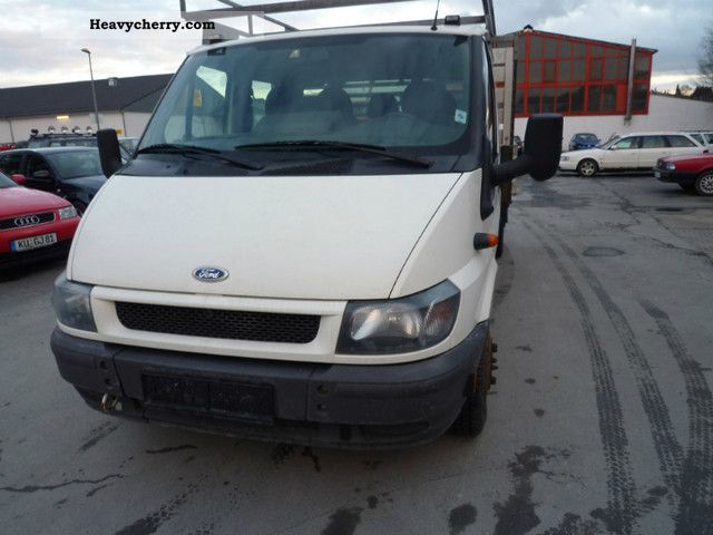 9ffc5bde76 Ford Transit Double Cab   350   twin tires   2006 Stake body Truck ...