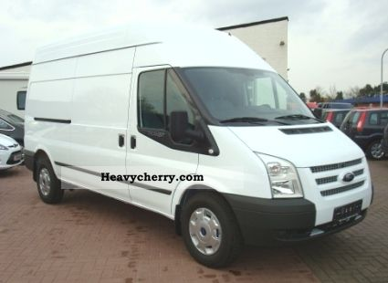 2012 Ford  Transit FT 350 L TDCi Trend Truck 'Express Line' Van or truck up to 7.5t Box-type delivery van - long photo