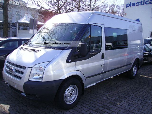 ford transit ft 300 l trend doka 2012 box type delivery van long photo and specs. Black Bedroom Furniture Sets. Home Design Ideas