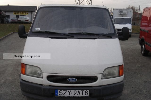 1998 Ford  transit Van or truck up to 7.5t Refrigerator body photo