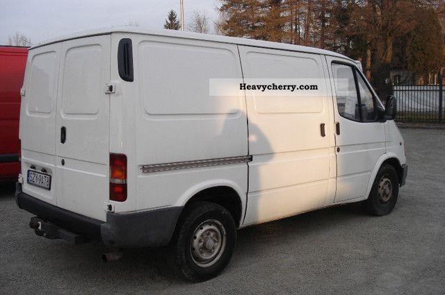 ford transit  refrigerator body truck photo  specs
