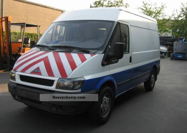 2002 Ford  transit Van or truck up to 7.5t Box-type delivery van - high photo