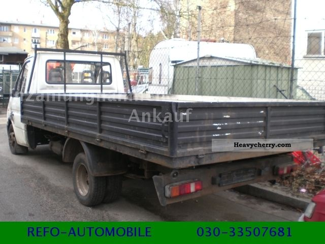 ford transit  diesel long platform  stake body