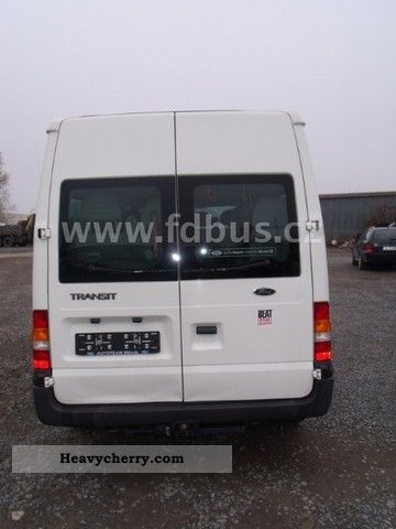 ford transit    buses  coaches photo  specs