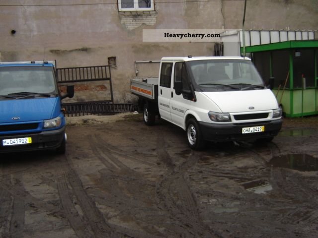 2003 Ford  Transit Van or truck up to 7.5t Box photo