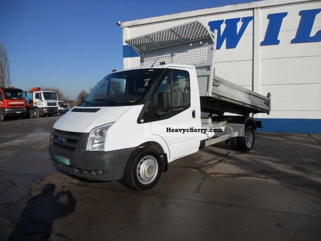 2009 Ford  Transit 350 TDCi 115 MJ Van or truck up to 7.5t Tipper photo