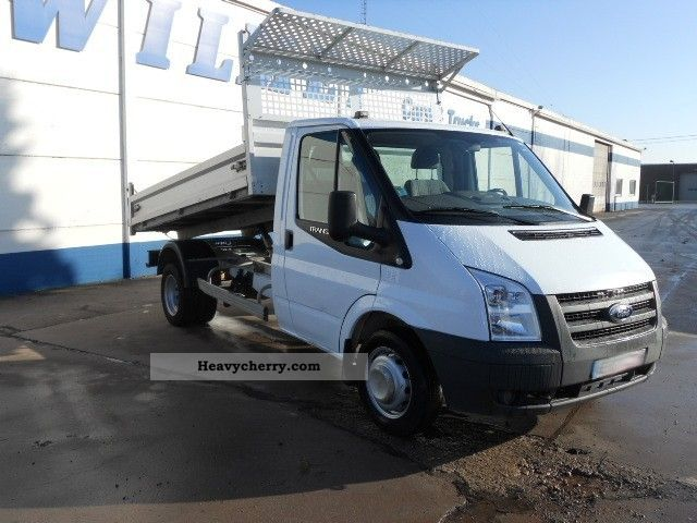 ford transit 350 tdci 115 mj 2009 tipper truck photo and specs. Black Bedroom Furniture Sets. Home Design Ideas