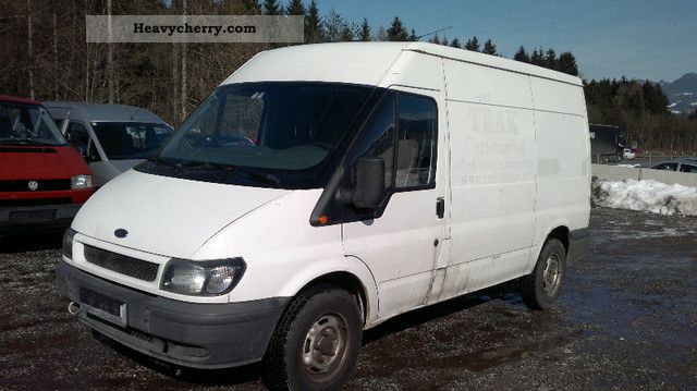 2000 Ford  Transit Van or truck up to 7.5t Box-type delivery van - long photo