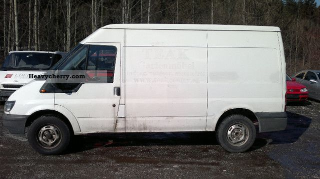 ford transit 2000 box type delivery van long photo and specs. Black Bedroom Furniture Sets. Home Design Ideas