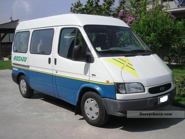 ford transit 1995 other buses and coaches photo and specs. Black Bedroom Furniture Sets. Home Design Ideas