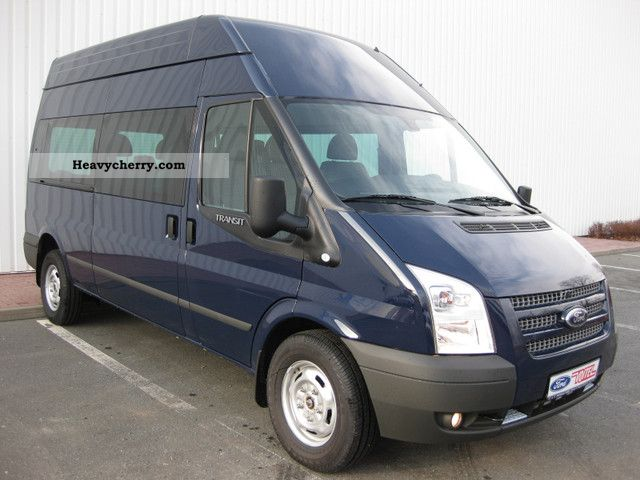 Ford Transit 125ps 2 2 9 Seater Combi Ft350m Climate 2012