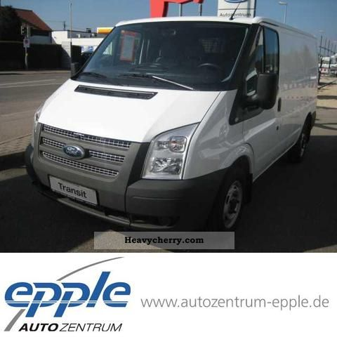 2012 Ford  FT 260 K TDCi VA City Light truck (F Y (02/00 -. 1 Van or truck up to 7.5t Box-type delivery van photo