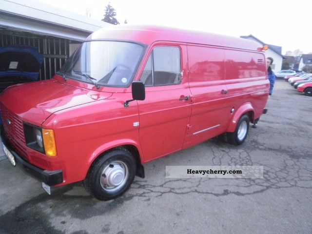 1981 Ford  transit Van or truck up to 7.5t Box-type delivery van - long photo