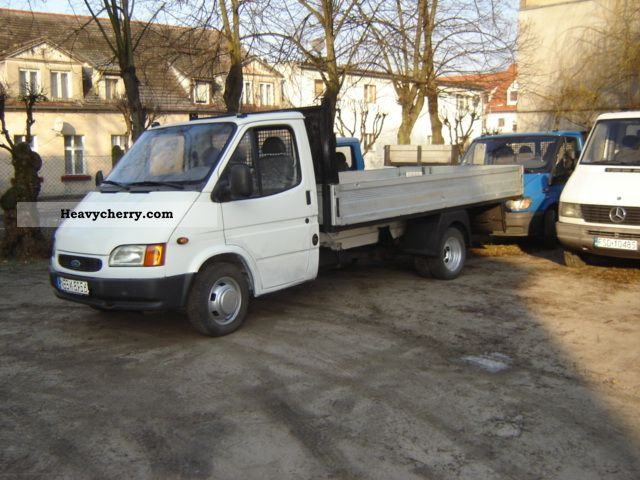 1997 Ford  Transit Van or truck up to 7.5t Box photo