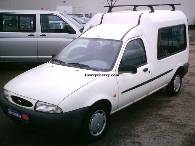 ford fiesta courier d3 green badge 1998 other vans trucks up to 7 photo and specs. Black Bedroom Furniture Sets. Home Design Ideas