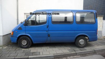 1997 Ford  Transit Van or truck up to 7.5t Estate - minibus up to 9 seats photo