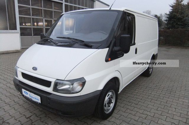2002 Ford  FT 240 K Van or truck up to 7.5t Box-type delivery van photo