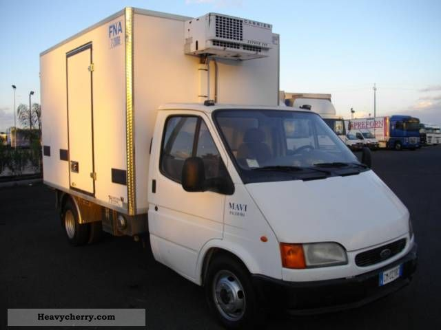 2000 Ford  Transit Van or truck up to 7.5t Refrigerator body photo