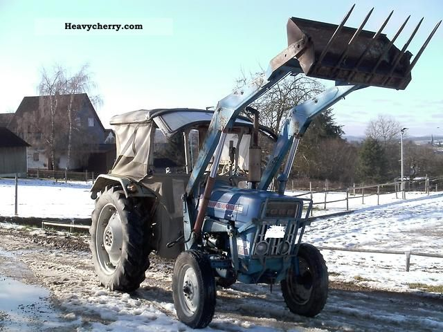 69 Ford 3000 Tractor : Ford  agricultural tractor photo and specs
