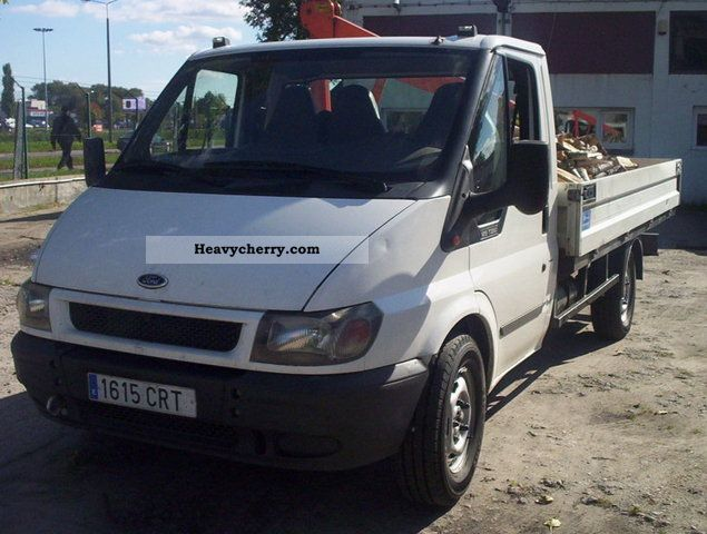 2004 Ford  Transit Skrzynia z HDS Van or truck up to 7.5t Stake body photo