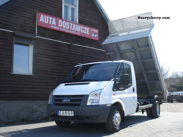 2009 Ford  TRANSIT 350 WYWROTKA Wywrot JAK NOWY Van or truck up to 7.5t Tipper photo
