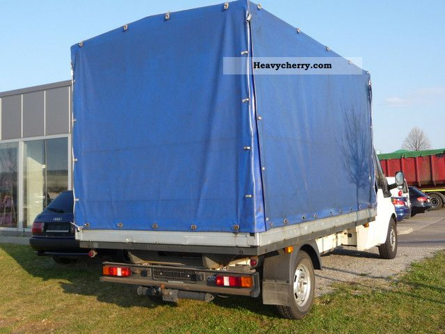 Ford transit 2005 stake body and tarpaulin truck photo and specs