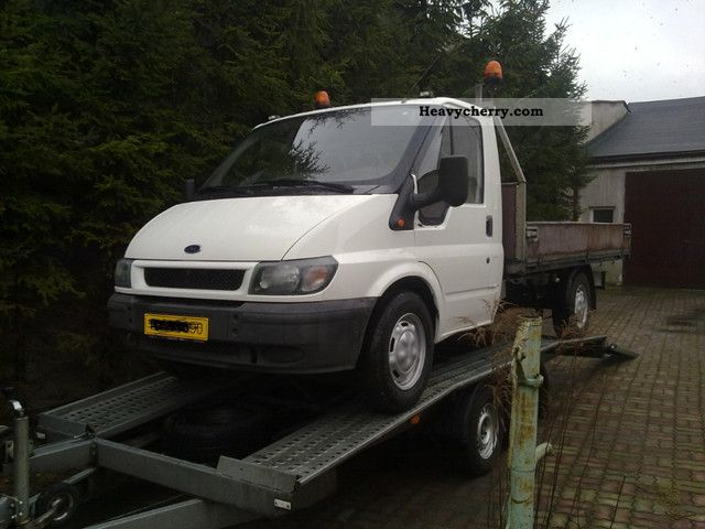 2001 Ford  transit Van or truck up to 7.5t Stake body photo