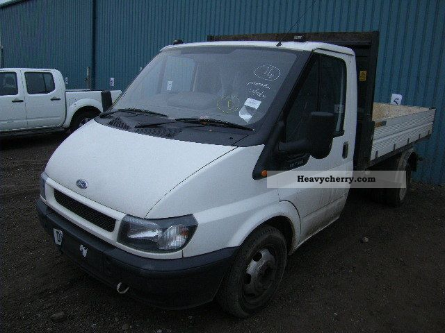 2004 Ford  transit Van or truck up to 7.5t Tipper photo