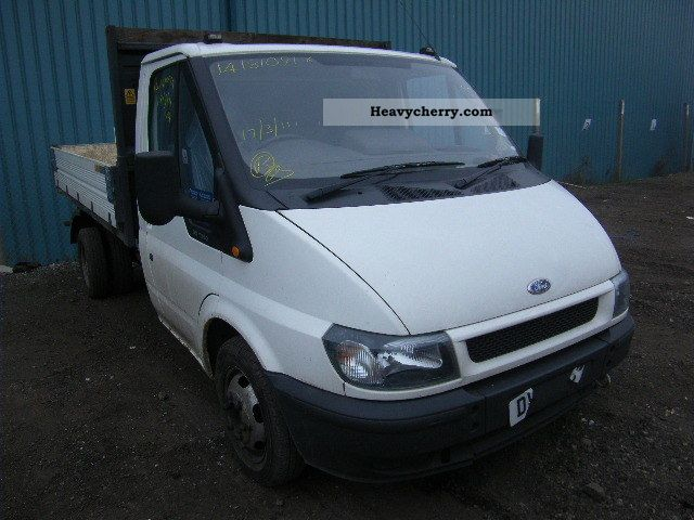 ford transit 2004 tipper truck photo and specs. Black Bedroom Furniture Sets. Home Design Ideas