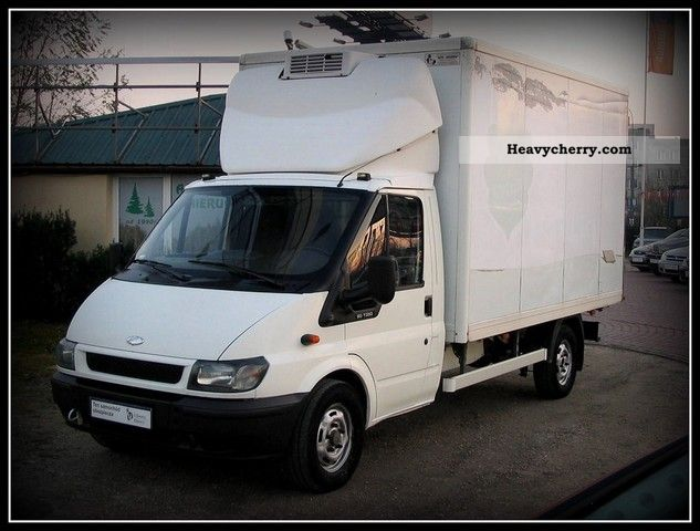 ford transit chlodnia diesel 2004 refrigerator body truck photo and specs. Black Bedroom Furniture Sets. Home Design Ideas