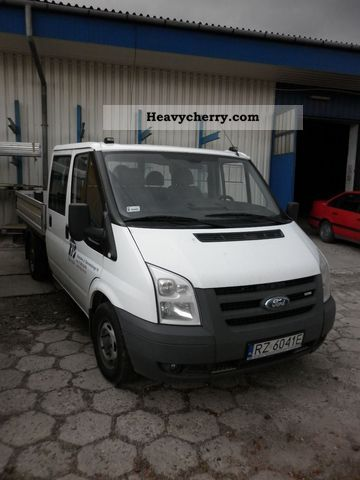 2007 Ford  Transit Van or truck up to 7.5t Box photo