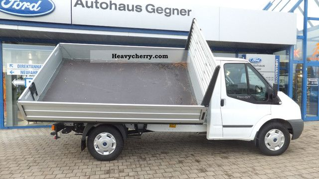 ford transit ft350m 2 4tdci 4x4 dreiseitenkipper ahk 2012 three sided tipper truck photo and specs. Black Bedroom Furniture Sets. Home Design Ideas