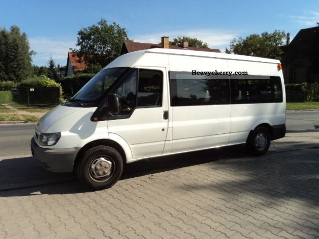2001 Ford  transit Van or truck up to 7.5t Estate - minibus up to 9 seats photo