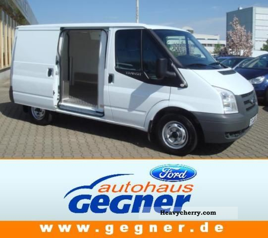 2012 Ford Transit Connect Refrigeration Mini Cargo Van: Ford Transit 2.2 TDCI FT260K Konvekta Cooling EURO5 2012