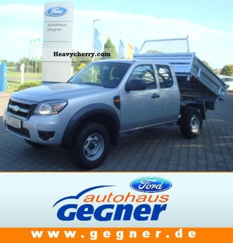 2011 Ford  Ranger Extra Cab 2.5 TDCI 4x4 APC K I P P E R Van or truck up to 7.5t Tipper photo