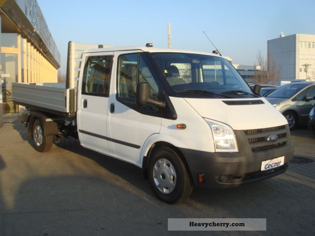 ford ft350l transit double cab 4x4 3 way tipper 2011 three sided tipper truck photo and specs. Black Bedroom Furniture Sets. Home Design Ideas