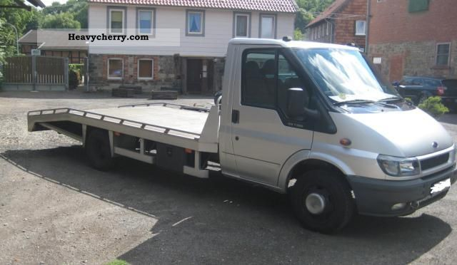 Ford transit ft 350 l 125 2001 breakdown truck photo and specs