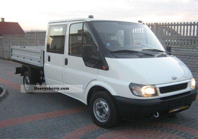 2003 Ford  DOKA 7 osobowa z Niemiec Van or truck up to 7.5t Box-type delivery van photo