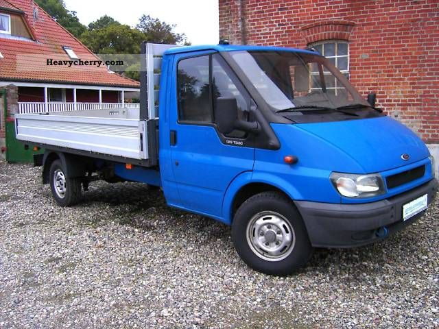 2003 Ford  FT 330 Van or truck up to 7.5t Stake body photo