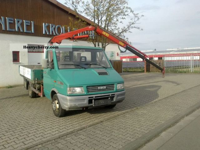 1995 Iveco  Daily 45/10 Van or truck up to 7.5t Truck-mounted crane photo