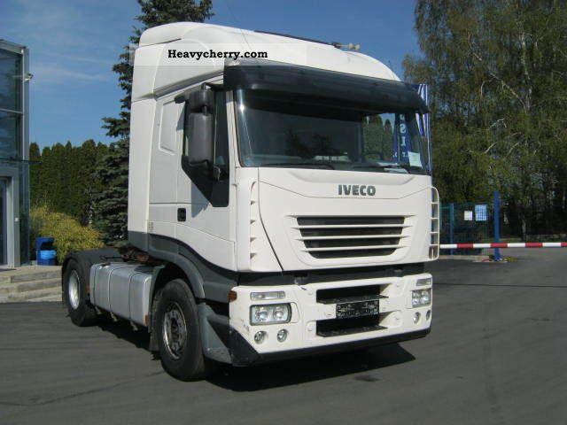 2003 Iveco  IVECO Stralis 440S43 Semi-trailer truck Standard tractor/trailer unit photo