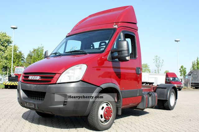 2007 Iveco  Daily 50C18 City-/MiniSattel counter top! Semi-trailer truck Standard tractor/trailer unit photo