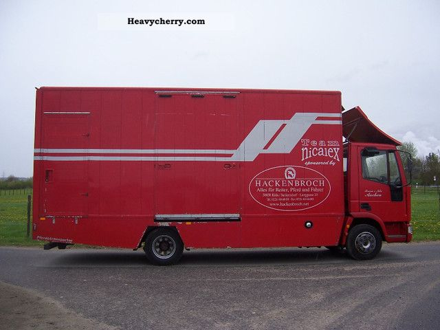 1991 Iveco  Horsebox Van or truck up to 7.5t Cattle truck photo