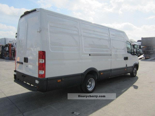 iveco daily 35c15 maxi 3 0l airco 2008 box type delivery van high and long photo and specs. Black Bedroom Furniture Sets. Home Design Ideas