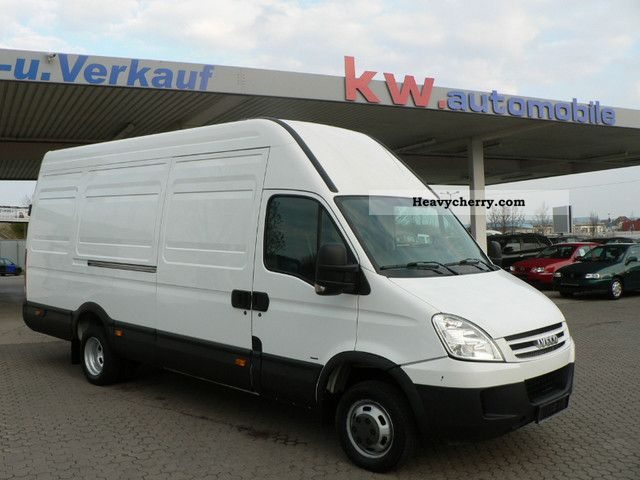 2008 Iveco  Daily 50 C15 Maxi-Box Van or truck up to 7.5t Box-type delivery van - high and long photo