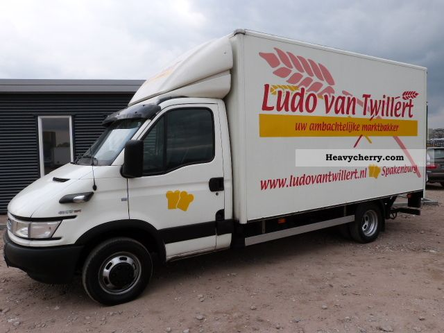 Iveco daily 40c17 bac u0026 laadklep 2005 other vans - Bac a semis ...