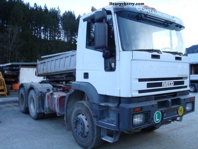 2003 Iveco  K/MP720E44HAT 6x4 Semi-trailer truck Standard tractor/trailer unit photo