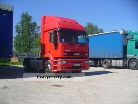 2004 Iveco  EuroTech Semi-trailer truck Standard tractor/trailer unit photo